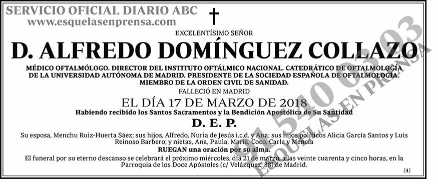 Alfredo Dóminguez Collazo